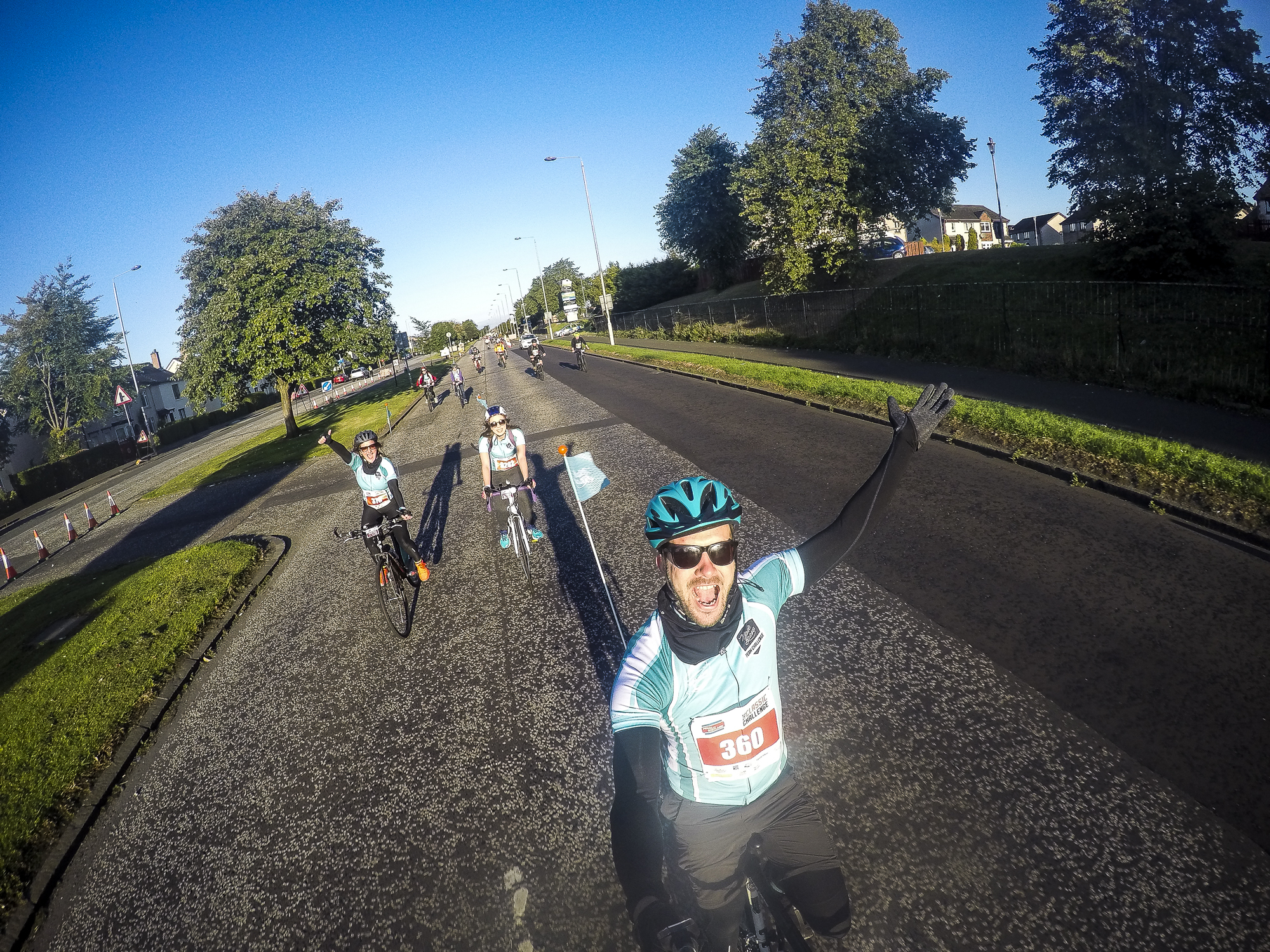 pedal for scotland route
