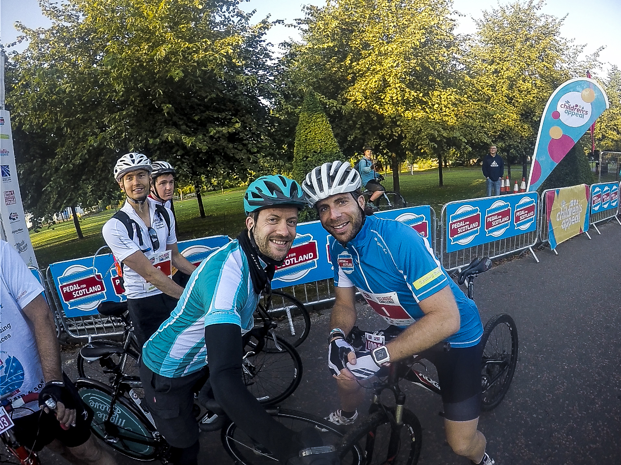 mark beaumont pedal for scotland