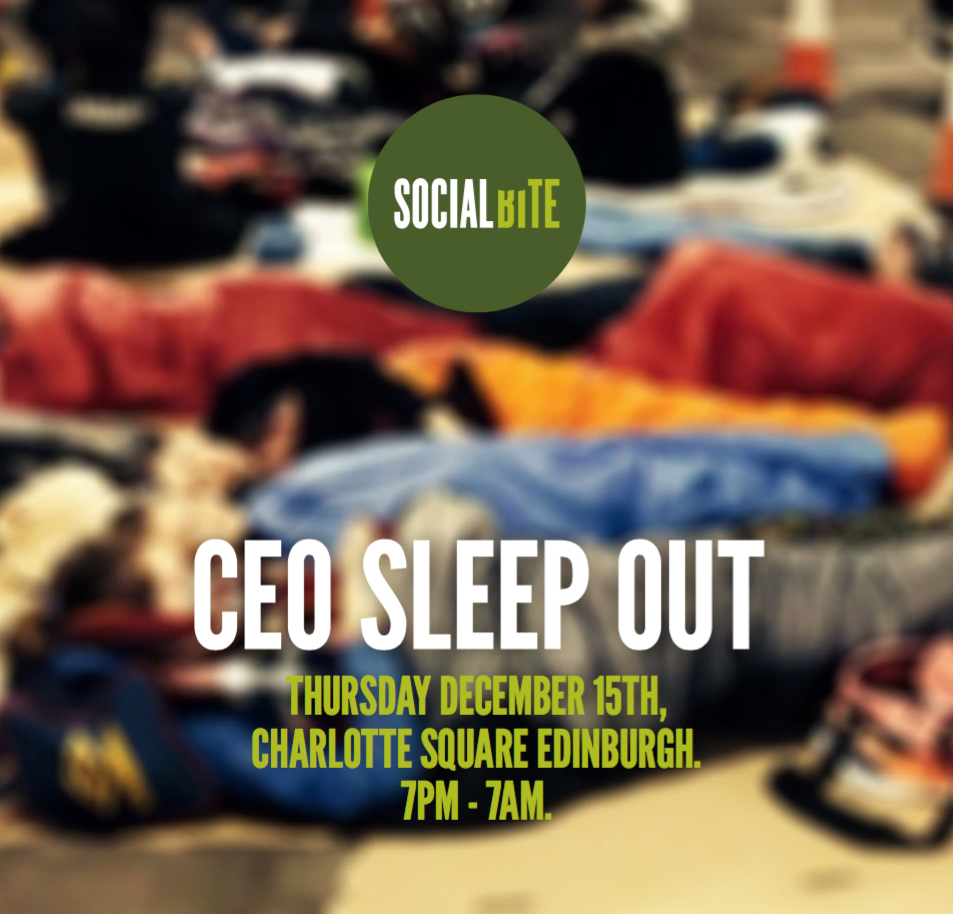 ceo sleepout with social bite logo