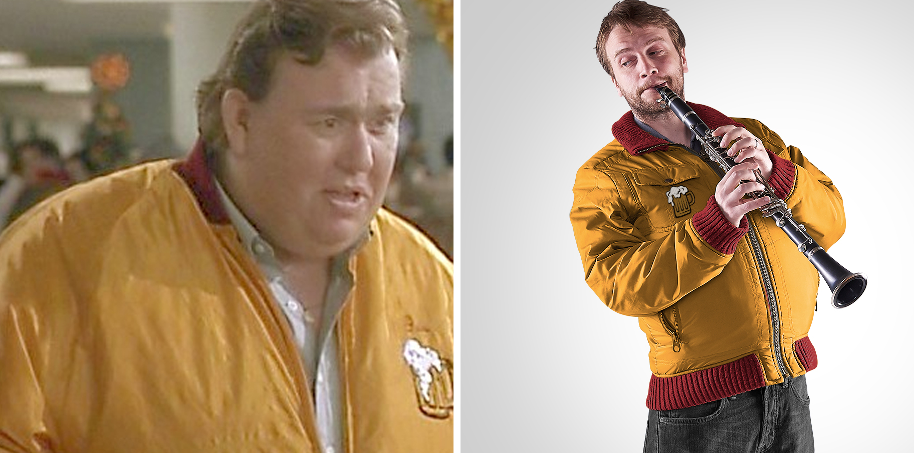 """Dave as Gus Polinski, the """"Polka King of the Midwest"""""""